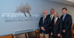 ROBERT WOOD JOHNSON UNIVERSITY HOSPITAL SOMERSET RECEIVES $500,000 DONATION FROM FAR HILLS RACE MEETING ASSOCIATION FOR BEHAVIORAL HEALTH UNIT